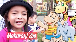 Let's go to the Zoo | Zara Cute homeschooling ke Kebun Binatang Maharani Lamongan | Bagus Banget