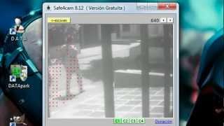 Cámara de Seguridad Exterior para Vigilancia Utilizando una Cámara Web (Outdoor Webcam)