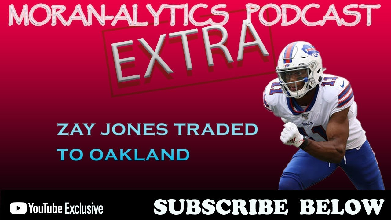 The Bills reportedly trade receiver Zay Jones to the Oakland Raiders for a 2021 fifth-round pick