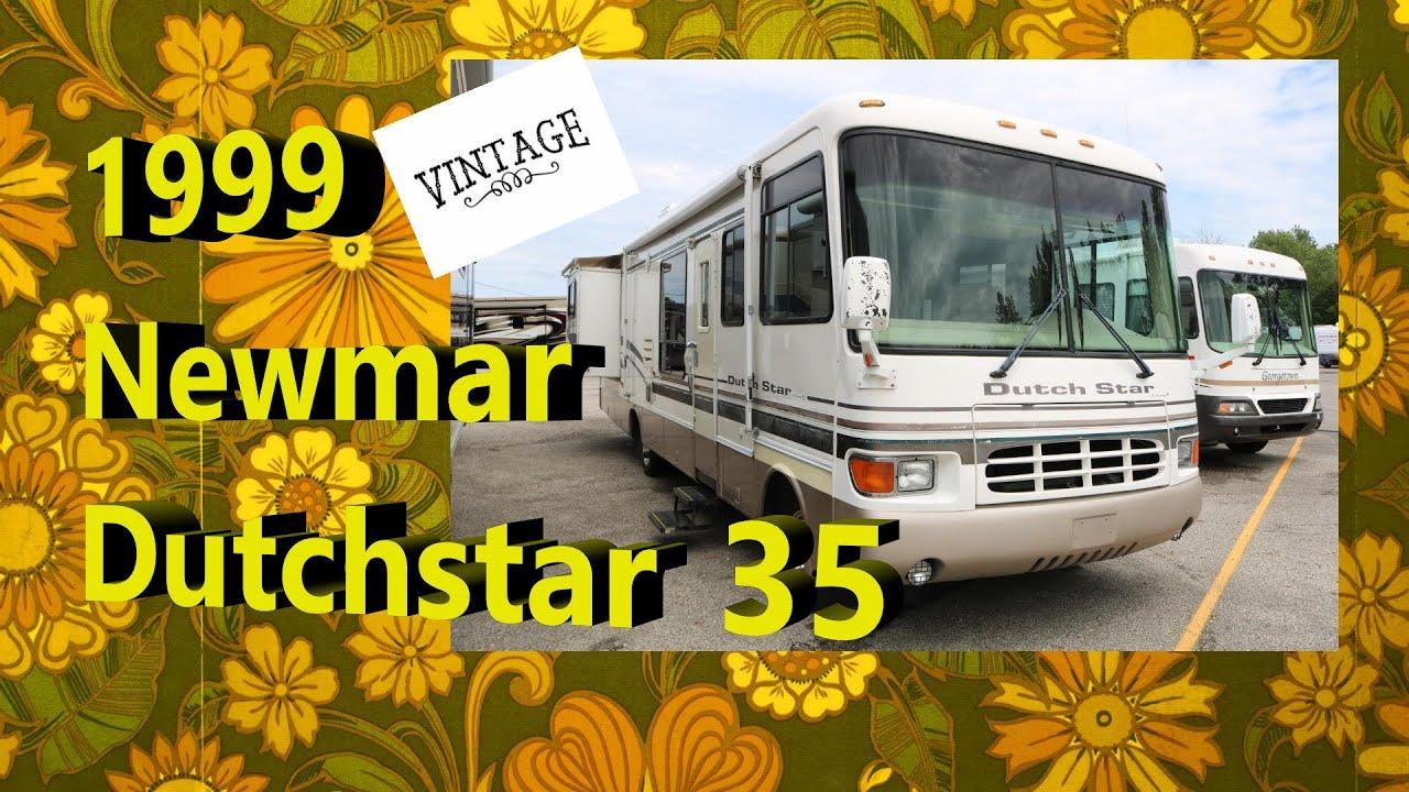 Vintage 1999 Newmar Dutchstar 35 | Mount Comfort RV