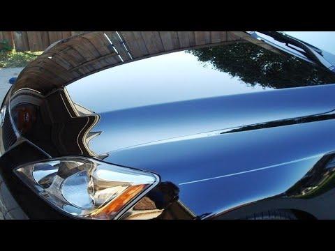 Как покрасить капот автомобиля своими руками видео