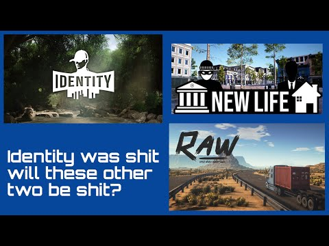 MMORPG Games Identity, New Life & RAW