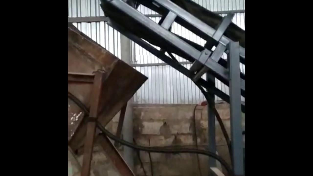 Наклонный желобчатый конвейер фольксваген транспортер продажа в саратове