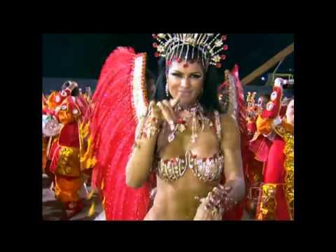 Camila vernaglia musa bateria x9 paulistana carnaval 2013