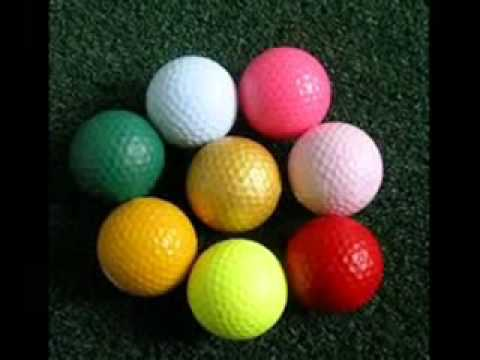 Colored Golf Balls Youtube