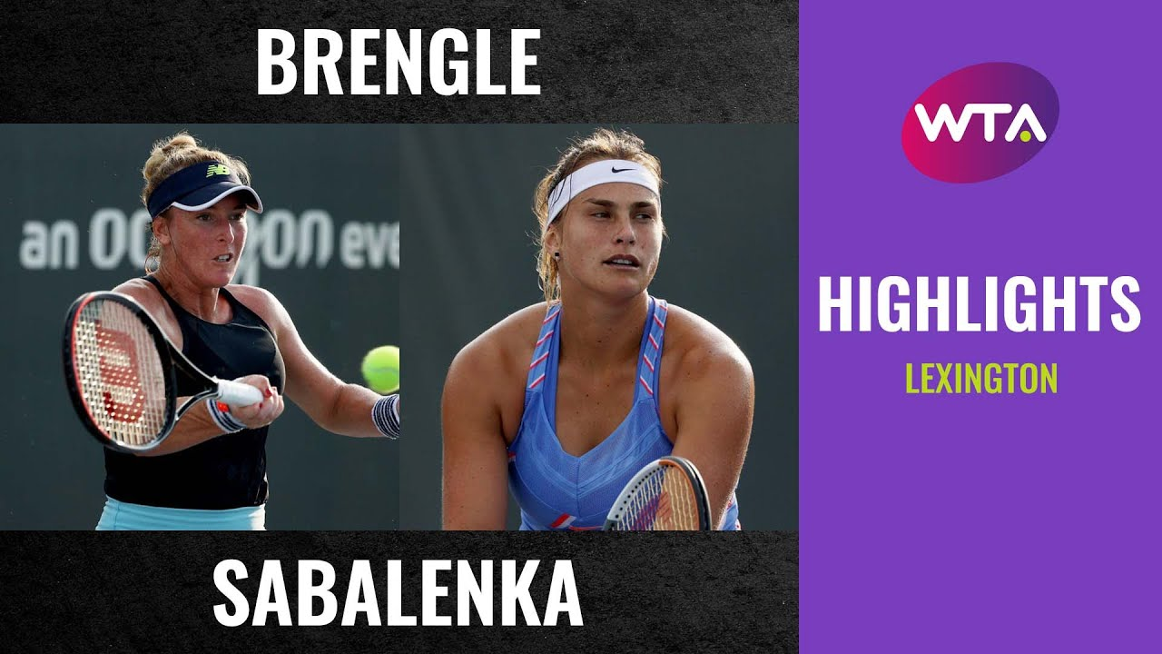 Download Madison Brengle vs. Aryna Sabalenka   2020 Lexington First Round   WTA Highlights