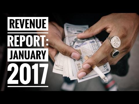 YouTube Revenue Report: January, 2017