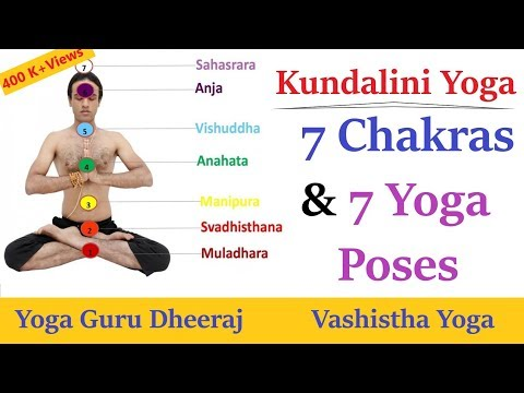 7 Chakras and 7 Yoga Poses |  Balancing Spine Chakras | Kundalini Yoga