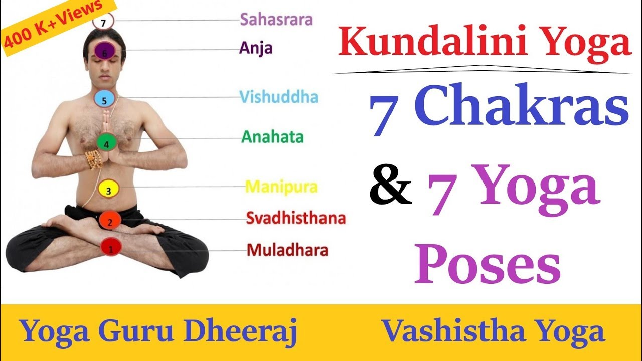 7 Chakras And 7 Yoga Poses Balancing Spine Chakras Kundalini Yoga Youtube