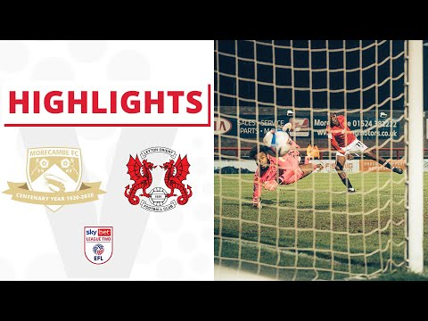 Morecambe Leyton Orient Goals And Highlights