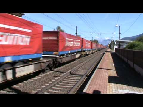 Freight Train Lokomotion with 2 class189 pull and class 139 push