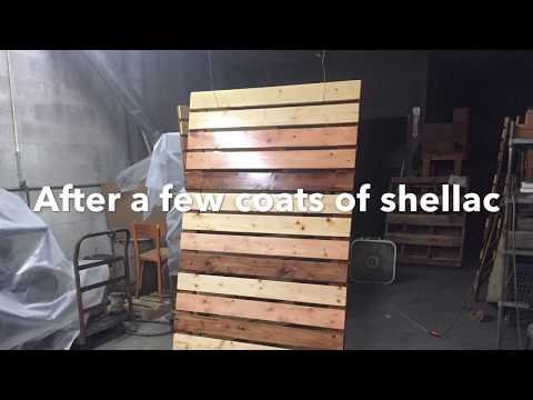 DIY Wood Room Dividers