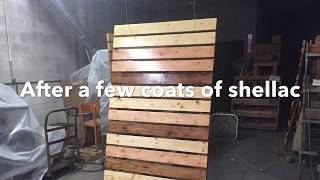 DIY Wood Room Dividers