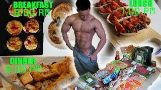 MY EXTREME FAT LOSS DIET - Full Day OF Eating - Meal By Meal 2018