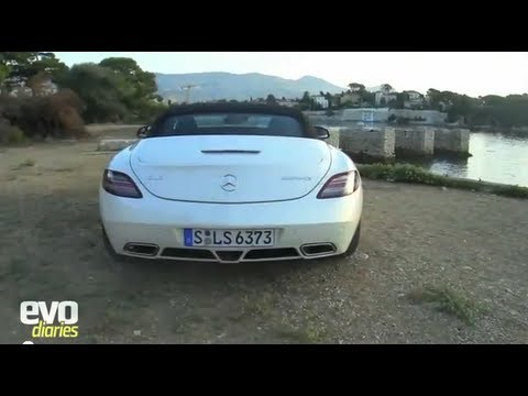 Mercedes SLS Roadster review - video diaries - EVO
