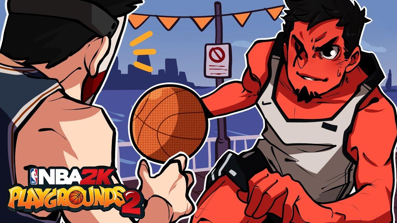 BALLIN' ON A BUDGET!   NBA 2K Playgrounds (w/ H2O Delirious)