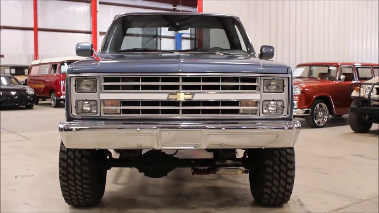 1986 Chevy Silverado - YouTube