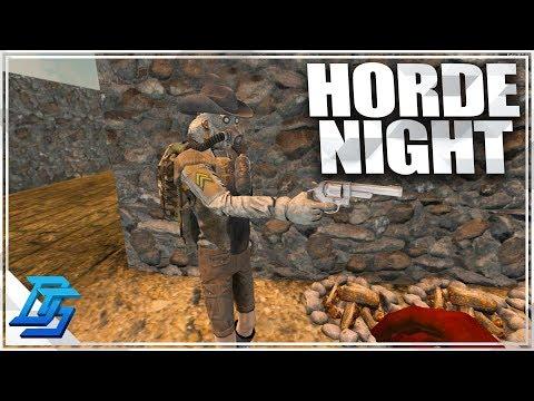 BIGGEST HORDE YET, HORDE NIGHT, 44 Magnum!  - 7 Days to Die - Alpha 16 - part 53