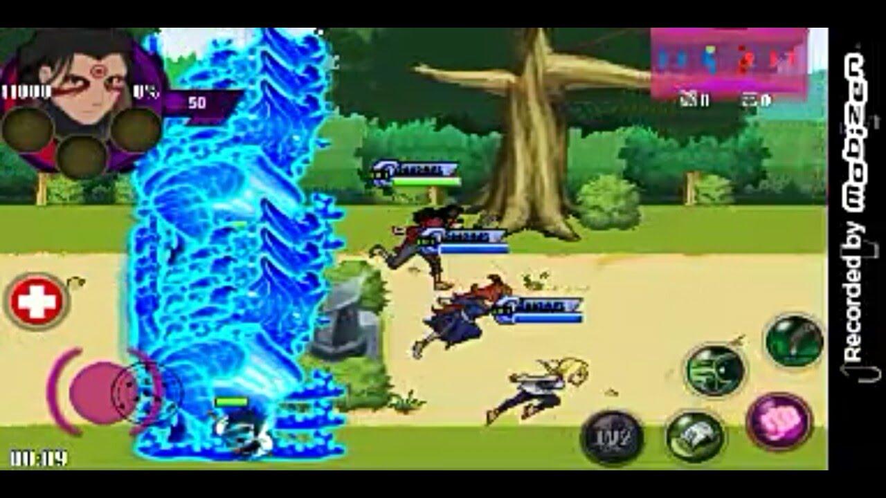 Naruto Senki Beta Ver 1 17 Gameplay Hashirama Vs Madara Youtube