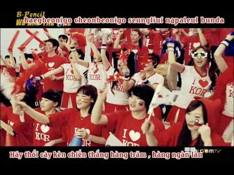 [MV][Vietsub + Kara] We Are The One - T-ara (World Cup
