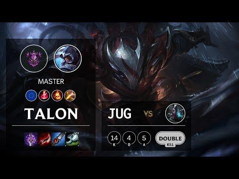Talon Jungle Vs Ekko - EUW Master Patch 10.4