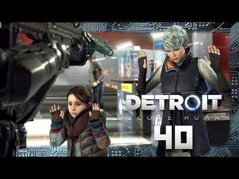 DETROIT: BECOME HUMAN # 40 🤖 An Der Kanadischen Grenze! [HD60] Let's Play Detroit: Become Human