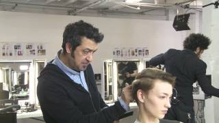 Learn to Cut an Undercut with Anthony Mascolo from TIGI