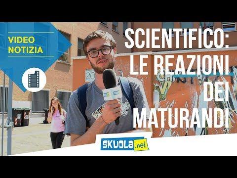 Maturità 2019: le reazioni dei ragazzi dello scientifico