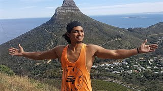 MY FIRST HIKE UP TABLE MOUNTAIN 2018