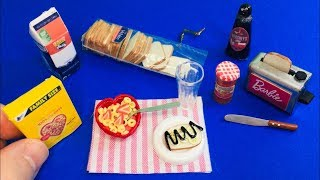 14 DIY MINIATURE  FOOD REALISTIC HACKS and CRAFTS (Bread, Cheerios, Toaster, and more)