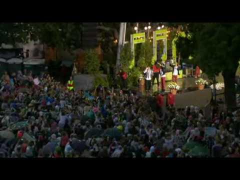 Eric Saade - Manboy (Allsång på Skansen