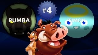 Agar.io TIMON & PUMBA #4 / Amazing Teaming
