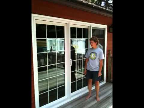9 foot patio door installation