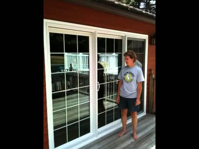 9 foot patio door installation youtube