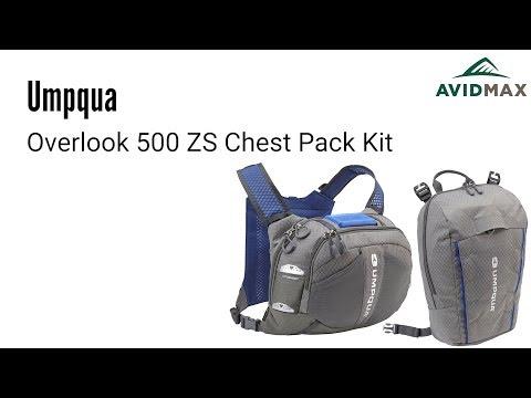 Umpqua Overlook 500 ZS Chest Pack Kit Review | AvidMax