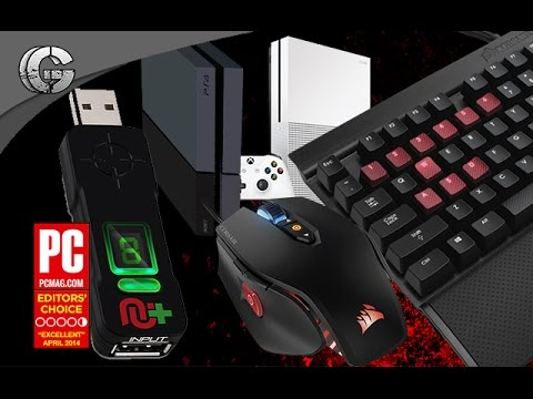 How To Use Keyboard & Mouse On PS4/Xbox One - Cronsmax Plus - No Input Lag ✔
