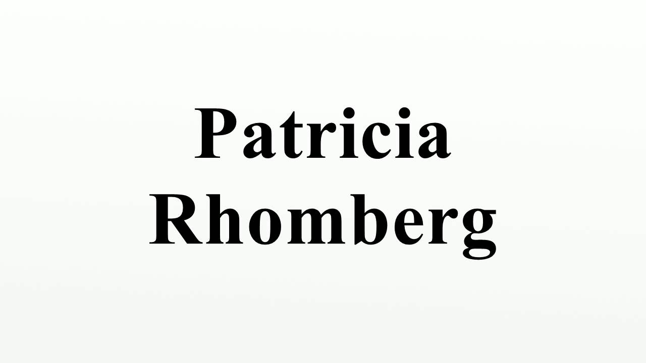 Patricia Rhomberg - YouTube