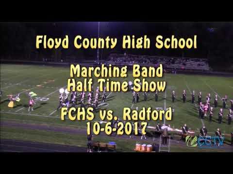 Floyd County High School Band Half Time Show