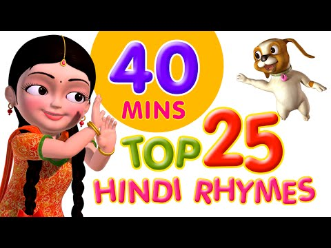 Top 25 Hindi Rhymes For Children Infobells