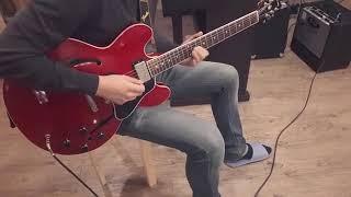 f blues guitar solo (진해성 재즈기타 …