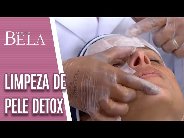 Limpeza de Pele Detox - Sempre Bela (10/03/19)