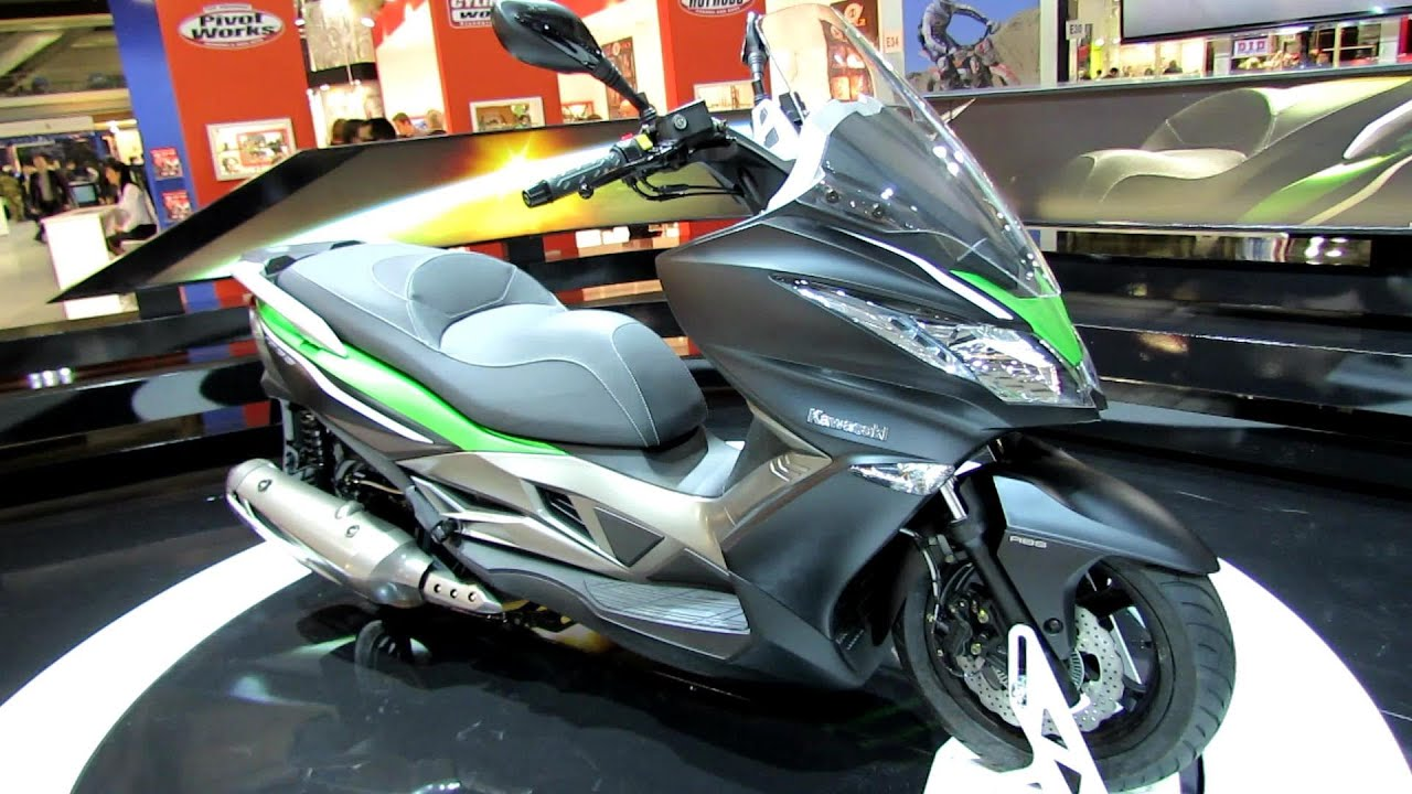 moto kawasaki j300