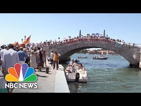 Houses Not Hotels: Venetians Angry At Mass Tourism | NBC News