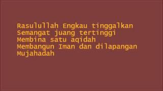 Hafiz Hamidun- Kasih padamu (lirik)