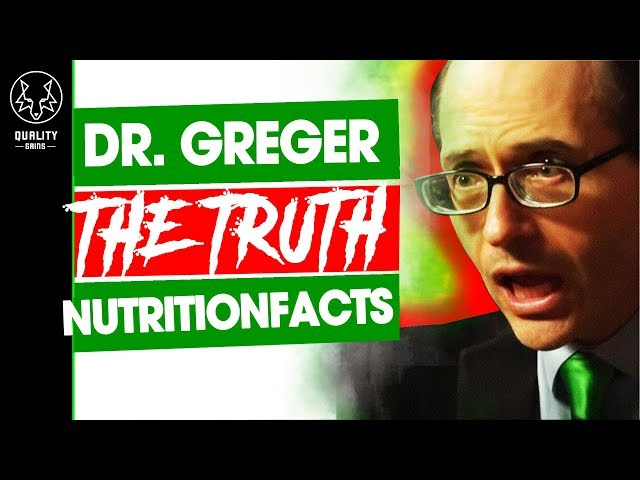 The Truth About Michael Greger - NutritionFacts.Org