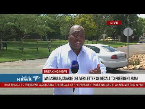 Mzwandile Mbeje outside Mahlamba Ndlopfu house YouTube