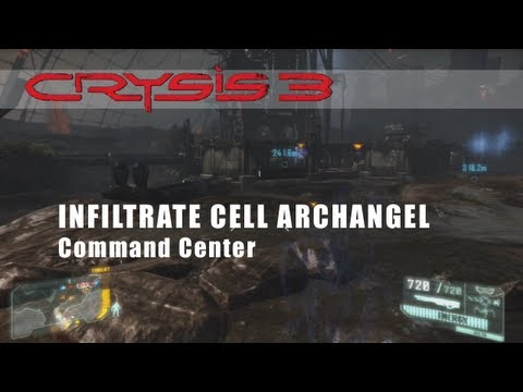 Infiltrate CELL Archangel Command Center