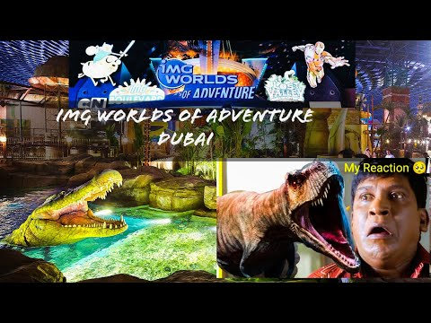 IMG Worlds of Adventure Dubai | Img world rides| Largest Indoor Theme Park Dubai
