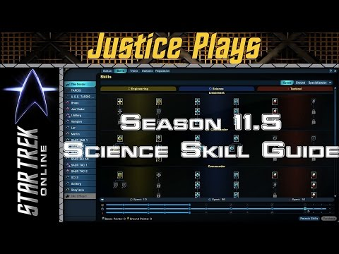 Star Trek Online - Season 11.5 - Science Space Skill Revamp Guide