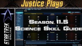 Star Trek Online - Season 11.5 - Science Space Skill Revamp Guide